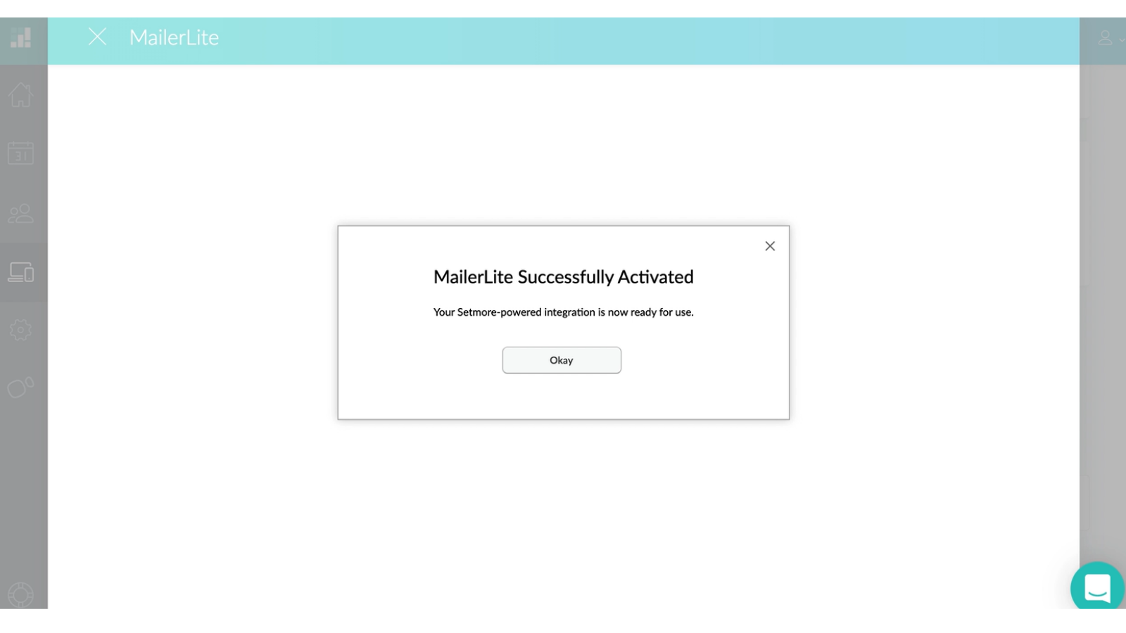 MailerLite account activation