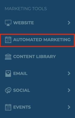Left Nav Bar Automated Marketing