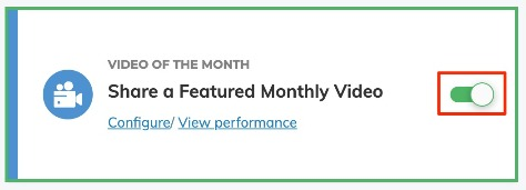 Video of the Month Toggle