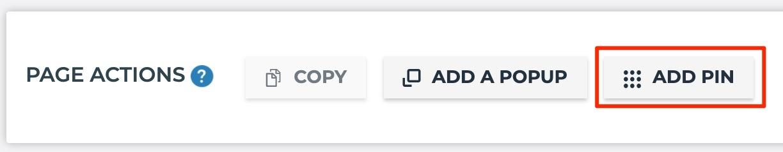 Add Pin New Page