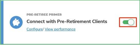 Pre-Retiree Primer