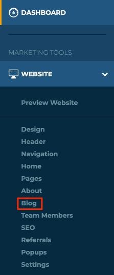 Left Nav Blog