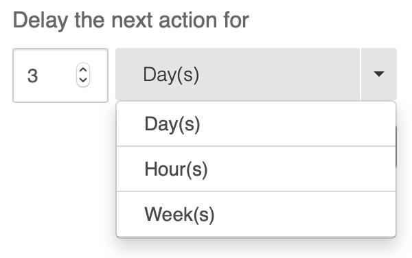 delay duration