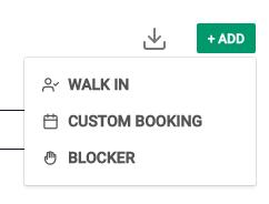 Adding a blocker
