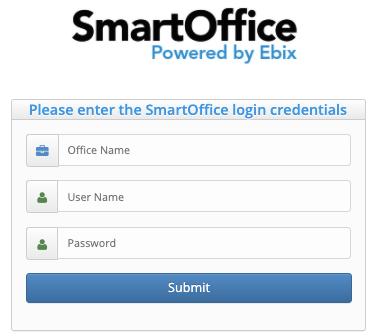 SmartOffice Log In