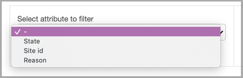 Dentally Automated Communication Appointment Filter choices
