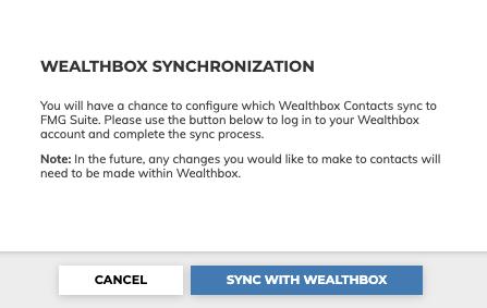 Wealthbox Synchronization