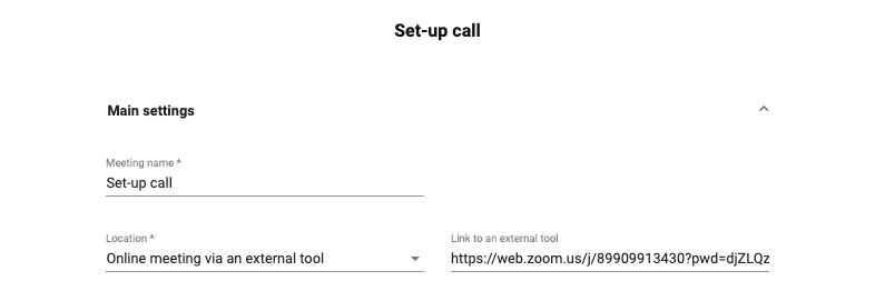 Integrate Zoom on MeetFox