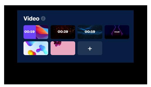 Countdown videos