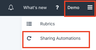 Finding Sharing Automations