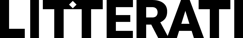 Litterati Black Logo