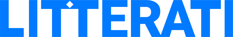 Litterati Blue Logo