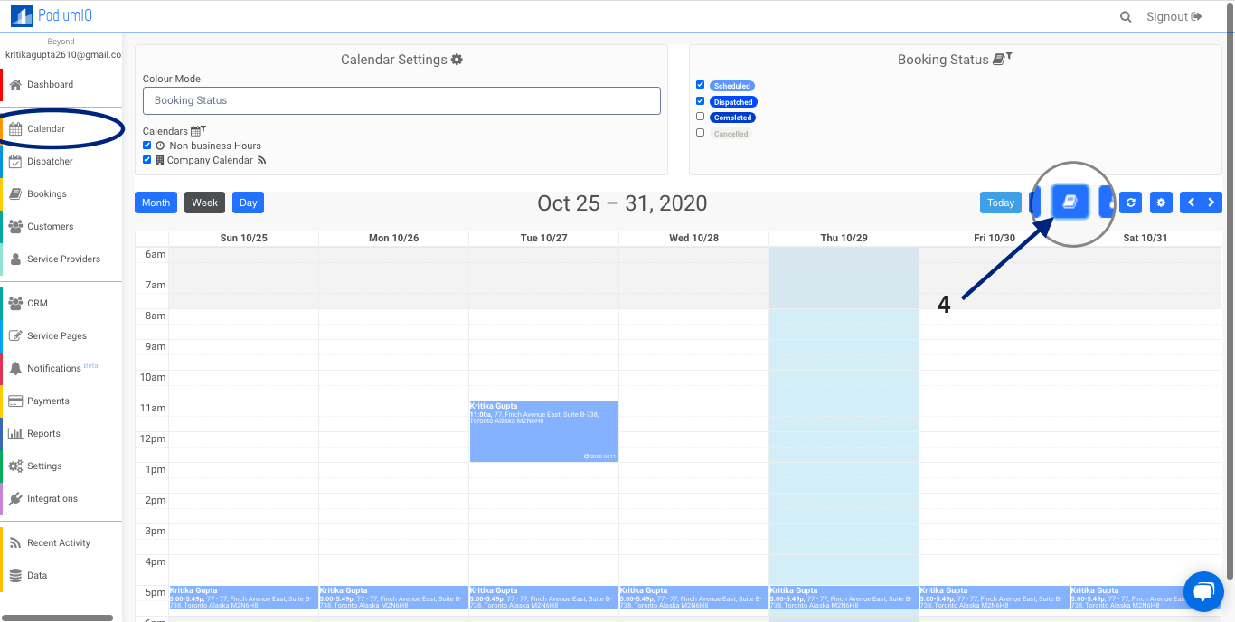"""Create """"Internal,"""" """"Call-In,"""" or """"On-Premise"""" Bookings from calendar"""