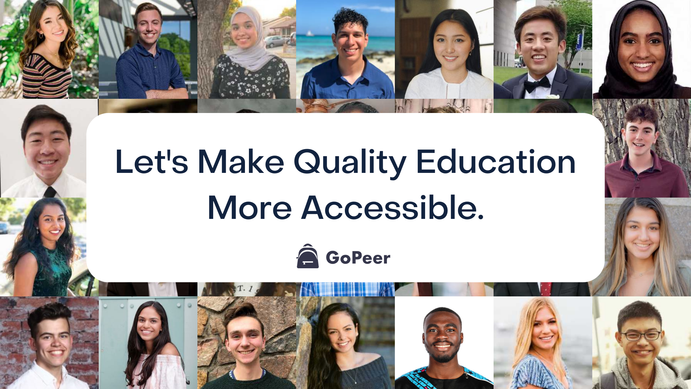 Let's make quality education more accessible for all students
