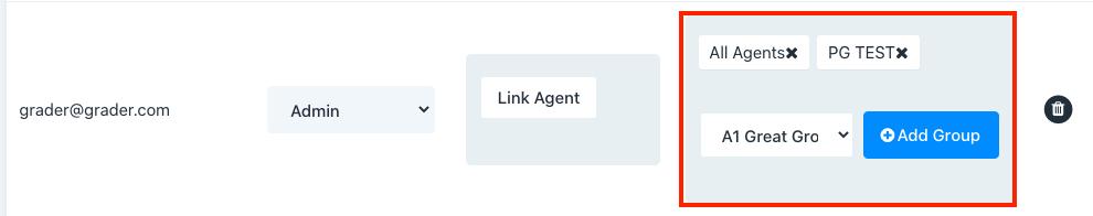 Managing grader agent access