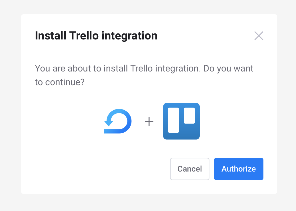 Install Trello integration - Scrumie