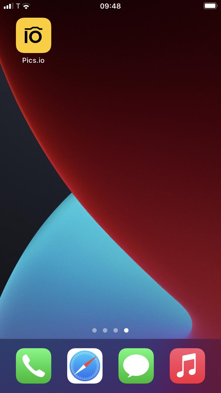 The PWA icon on iOS