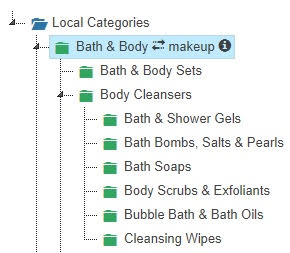 Assign Templates to Product Categories