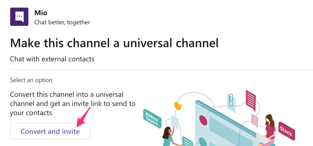 Universal channel in Microsoft Teams