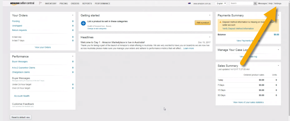 Amazon Seller ID