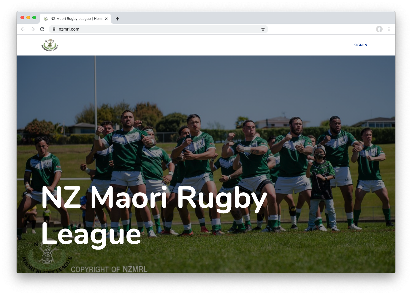 rugby league website hosted on leaguelobster