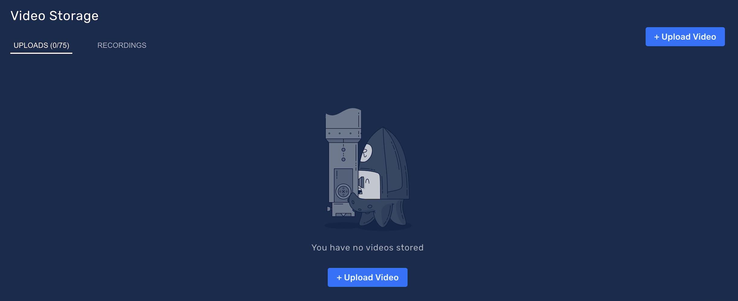 Restream Video Storage