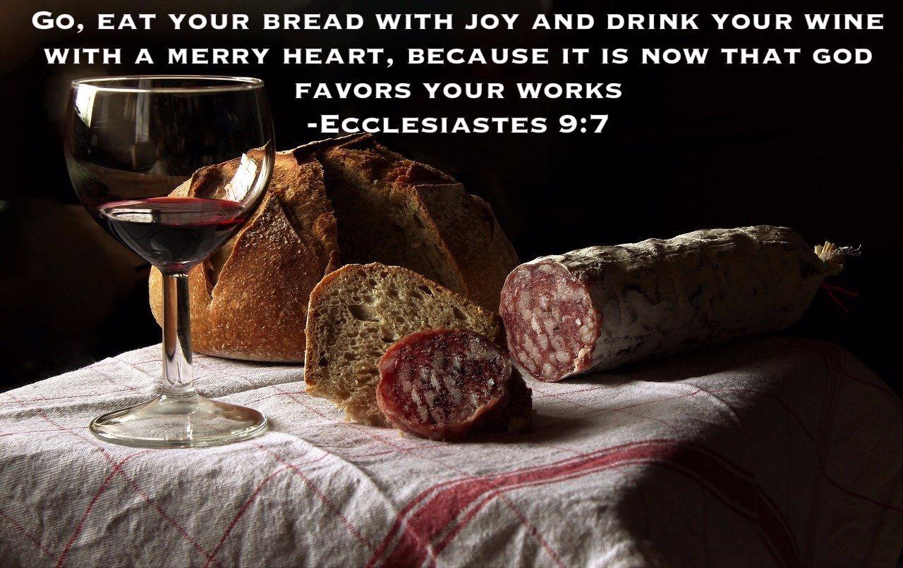 Sundays and Solemnities Ecclesiastes 9:7 Asceticism Exodus 90