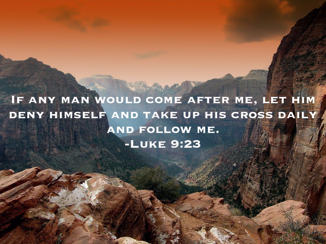 Asceticism Exodus 90 Luke 9:23 take up his cross daily and follow me