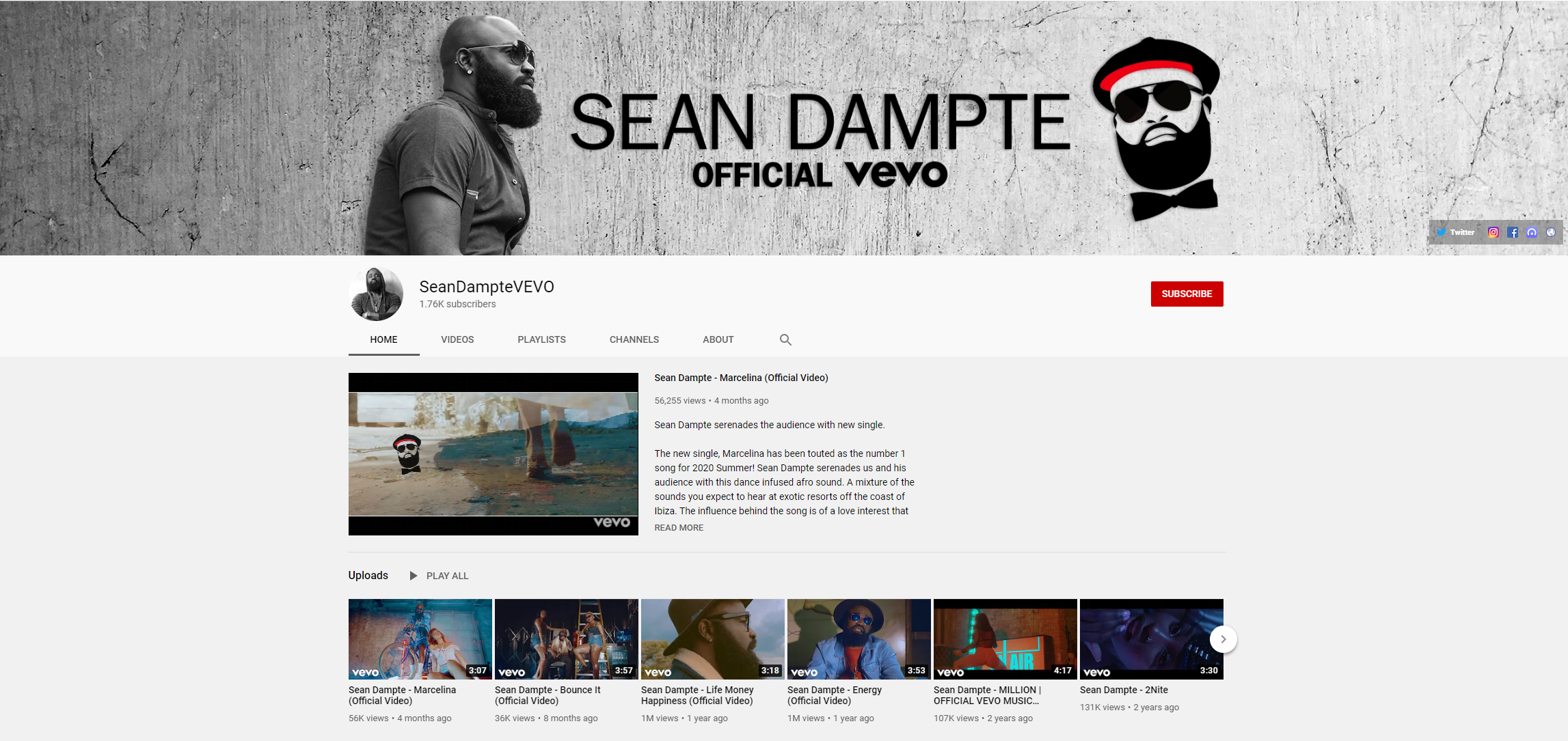 Sean Dampte Official VEVO Channel