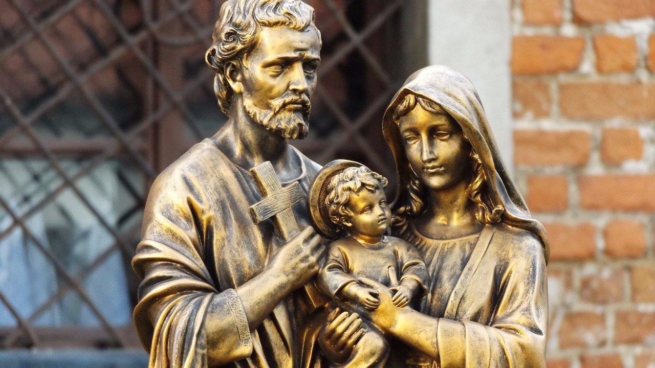 Exodus 90 Exodus man and his bride wife should I talk with asceticism holy family st. Joseph mary