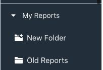 folders in reporting