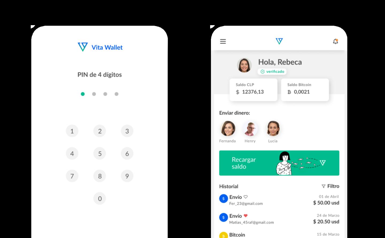Vita wallet para freelancers