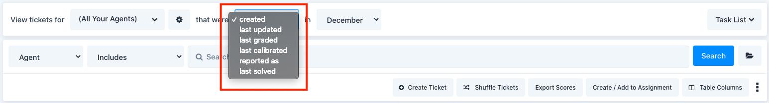 ticket statuses in MaestroQA