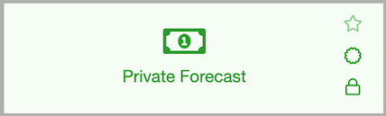 Dentally Private Forecast Report icon