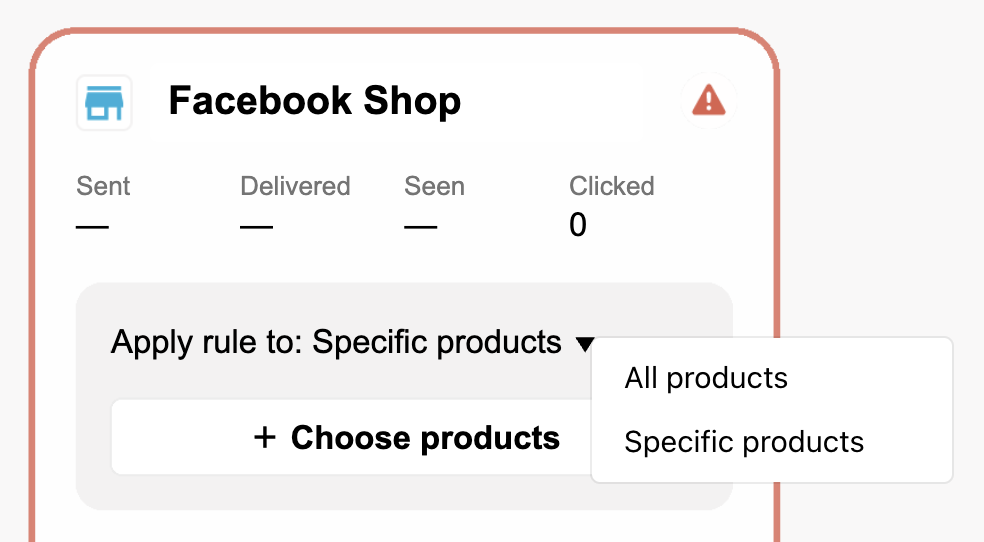 chatbots facebook shop entry point
