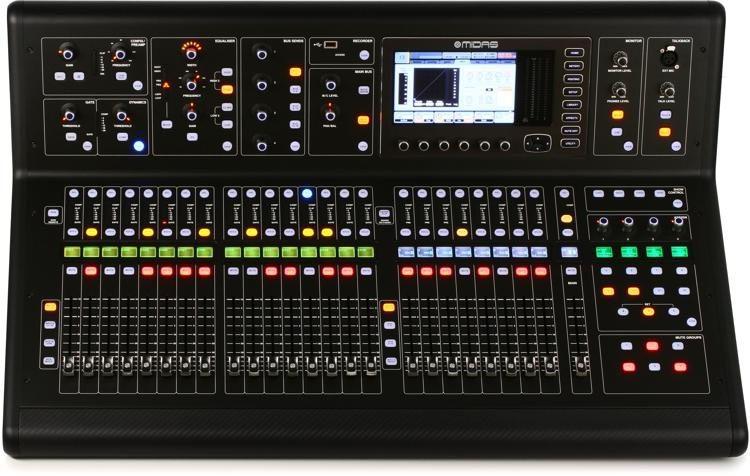 The M32 Live 40-Channel Digital Mixer is one of several M32 mixer options available.
