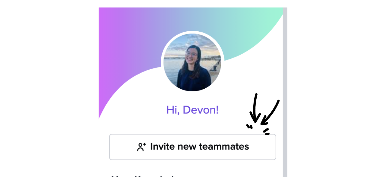 How to invite new Guru teammates from your dashboard