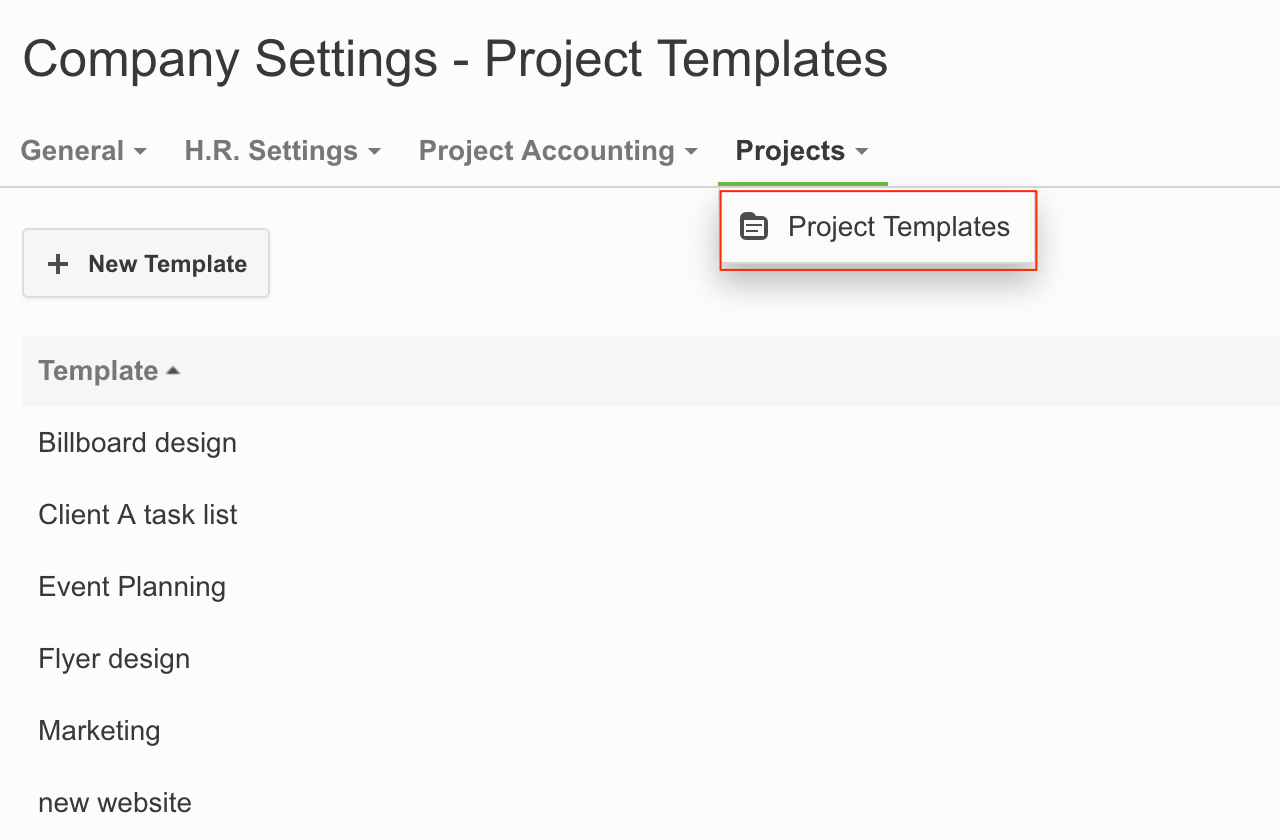 Project Templates Are Useful If You Have Similar Projects That Have The  Same Task Lists And Task Structure. By Using Project Templates You Donu0027t  Have To Add ...  Client List Template