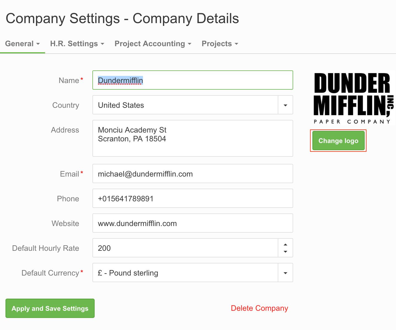 how do i add my company logo to invoices paymo help center