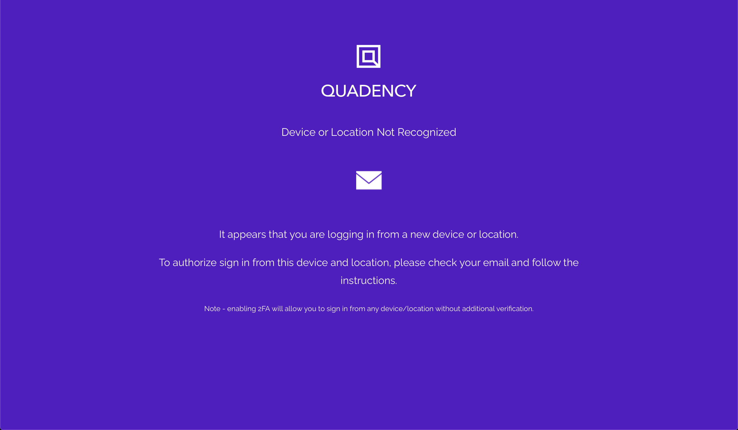 quadency-ip-device-location-not-recognized