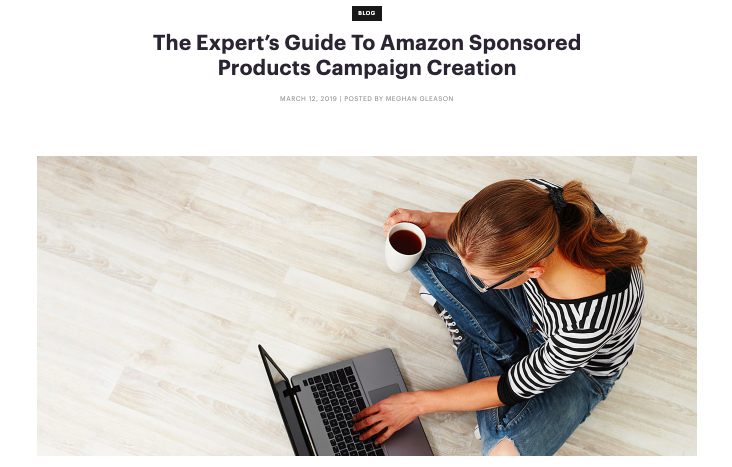 Become an expert in Amazon sponsored products