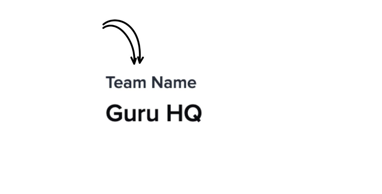 Guru Team Defined