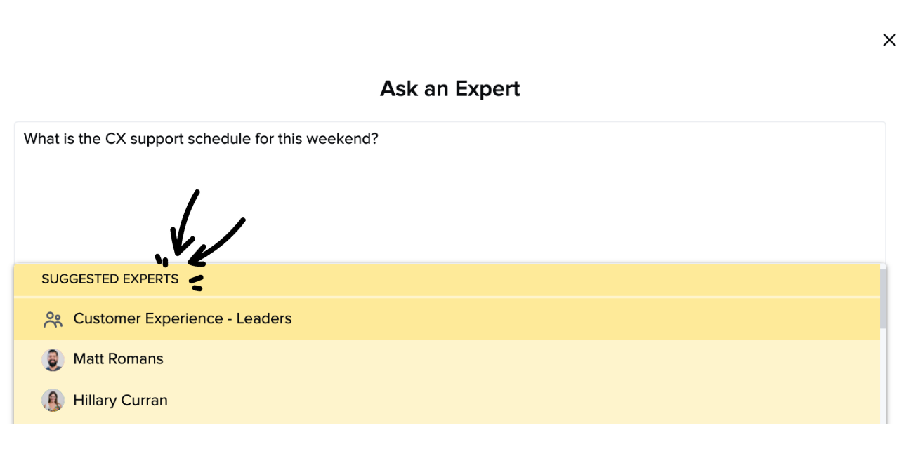 AI Suggest Expert