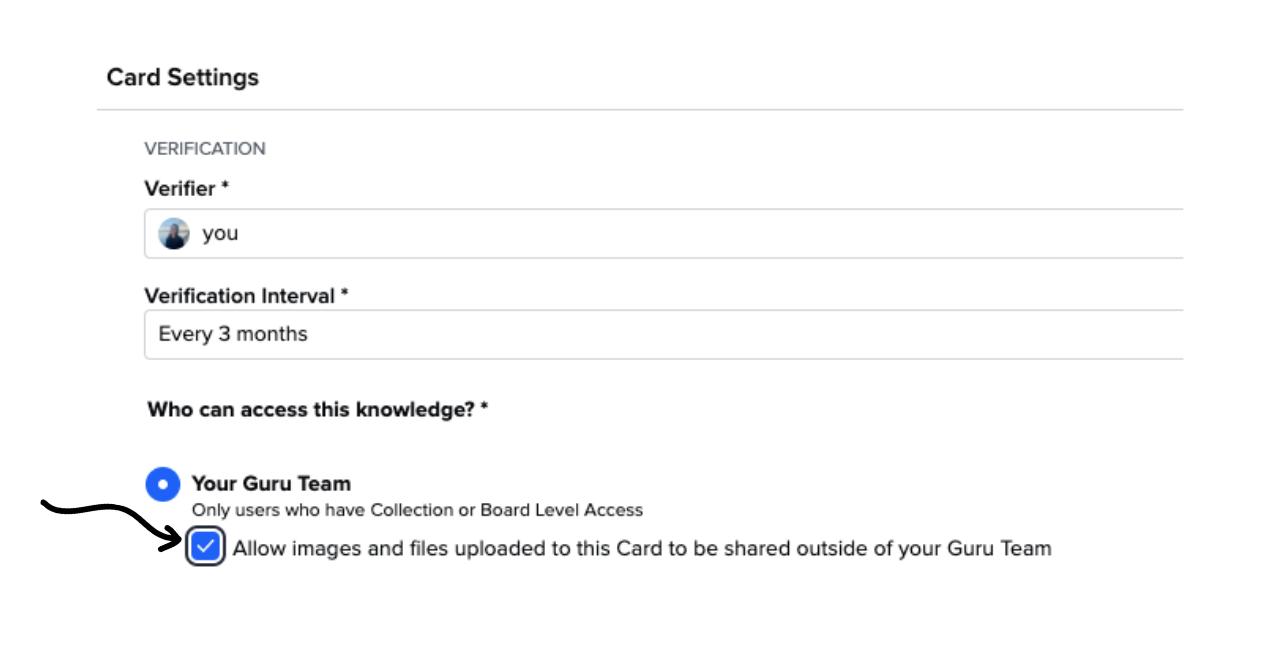 Guru Card File Access