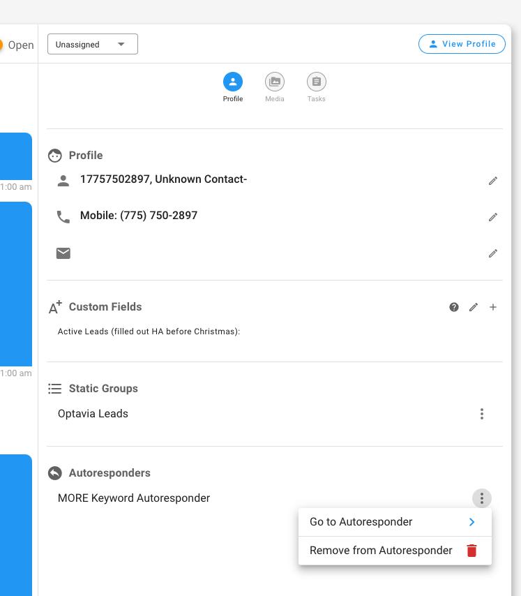 Static, smart and autoresponder group membership in Inbox.