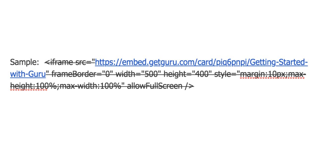 Workramp embed code