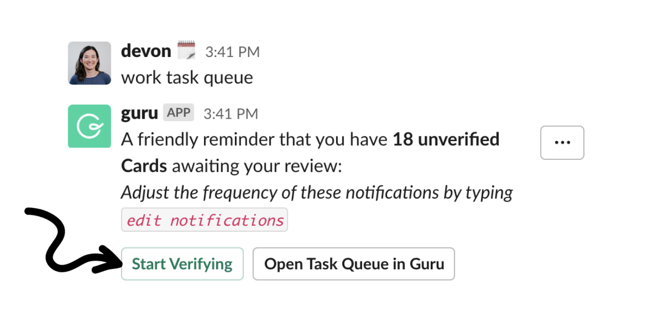 Verification Queue Slack