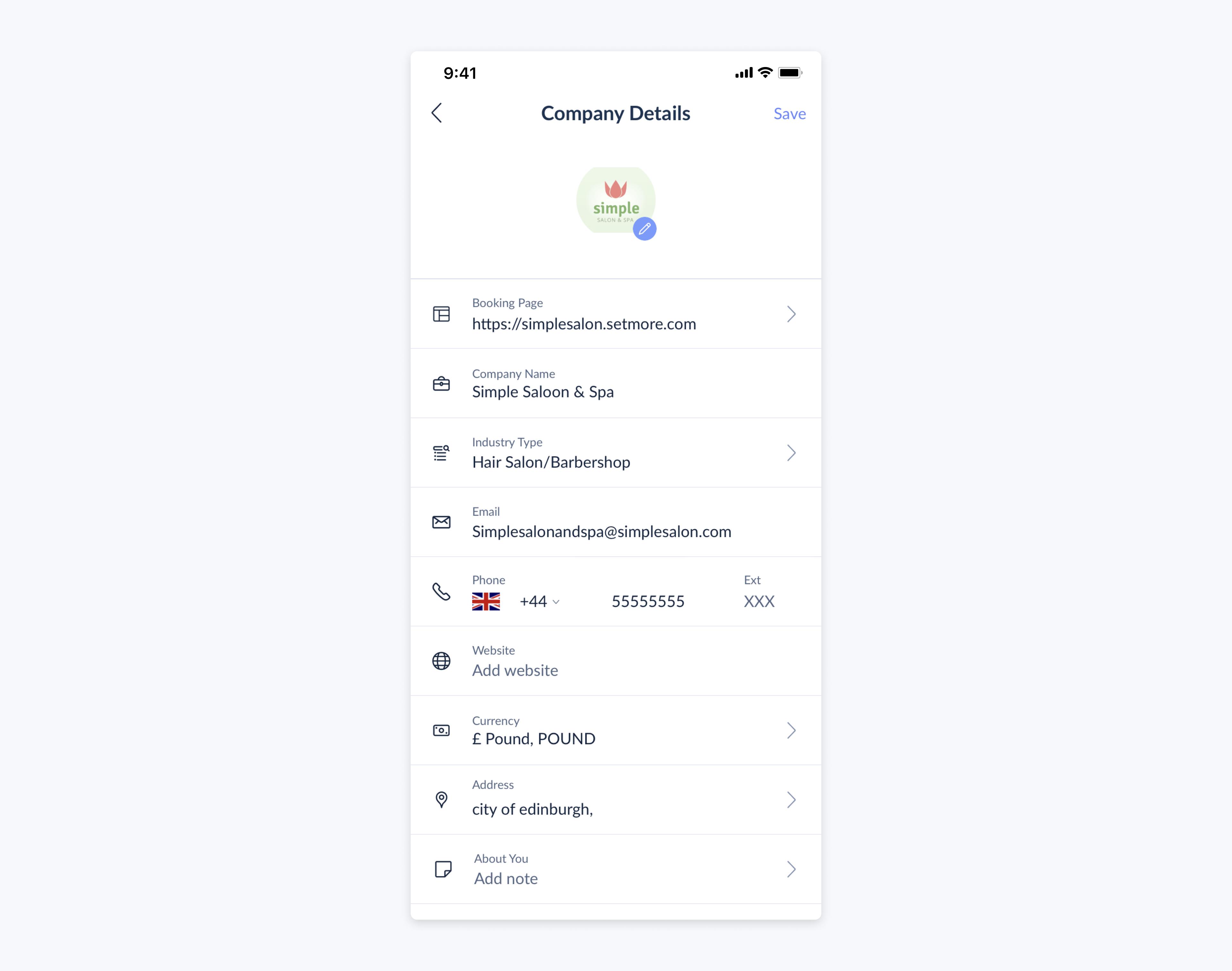 setmore app company details full information