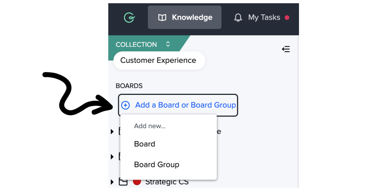 Create a Board or Board Group