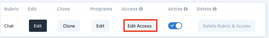 edit rubric access